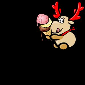 Elch Elmondo isst Eis – HAVE AN ICE DAY!
