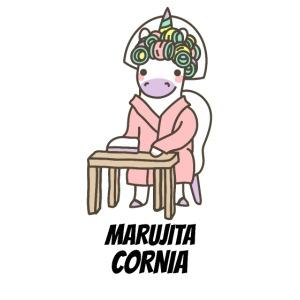 Mascarilla Marujita Cornia | Rulos e Unicornias