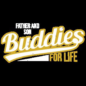 Vater und Sohn Buddies Leben