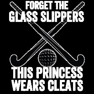 Hockey Damen - Vergessen Sie die Glas Hausschuhe