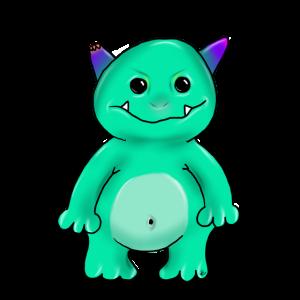 sweet monster - süßes Monster