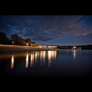 Bernsteinsee bei Nacht