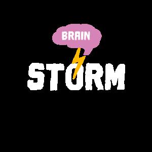 Brain storm - Gehirn Sturm