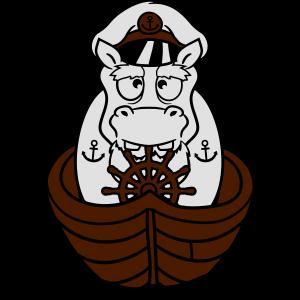 kapitaen matrose boot schiff deck muetze