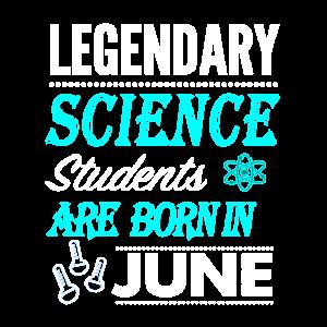 Science Legends werden im Juni geboren