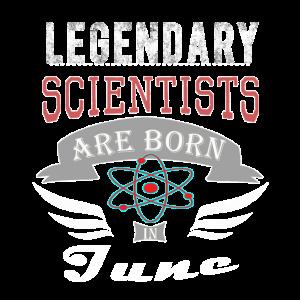 Legendäre Wissenschaftler werden im Juni geboren
