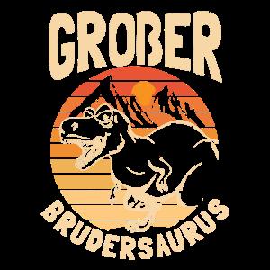 Großer Bruder Dino Brudersaurus Dinosauer Geschenk