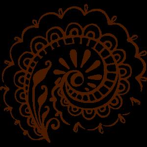 Hindu Flower Spiral