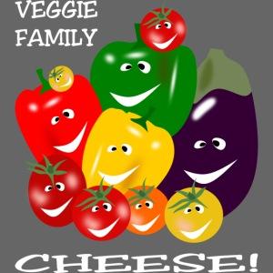 Veggie Family - Cheese!