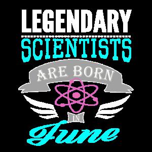 Legendäre Wissenschaftler werden im Juni Mädchen2 geboren