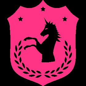 Unicorn Wappen 01