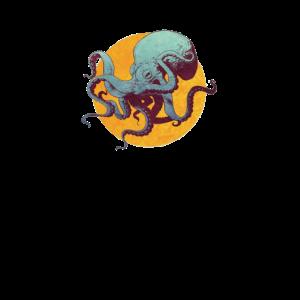 Tintenfisch - Oktopus T-Shirt
