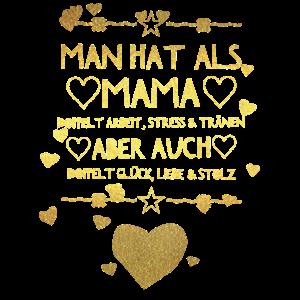 Mama Mutter Muttertag Familie Mami Mummy Geschenk