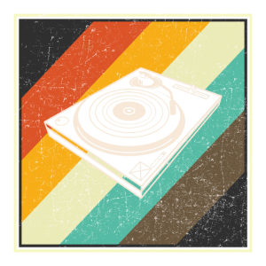 VINYL RETRO Schallplatte Musik