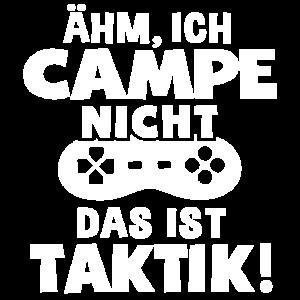 Gamer Campe nicht Ist Taktik Videospiele Geschenk