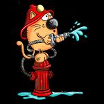 Feuerwehrkatze