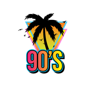 90er Strand Palme 90er Geschenkidee