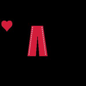jeans wear_heart