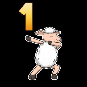 1. Bday 1 Birthday Sheep Baby