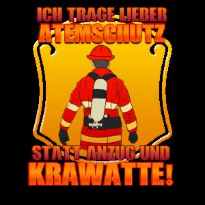 Ich Trage Atemschutz Feuerwehrmann Feuerwehrmänner