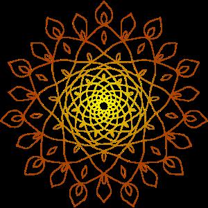Mandala Sonne energetisches Energie Symbol
