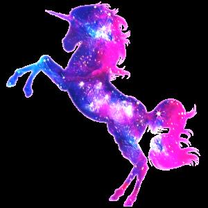 Galaxy Einhorn unicorn space Pferd fantasy Mädchen
