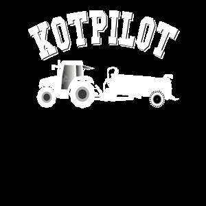 Traktor Landwirt Bauer Kotpilot Gülletraktor