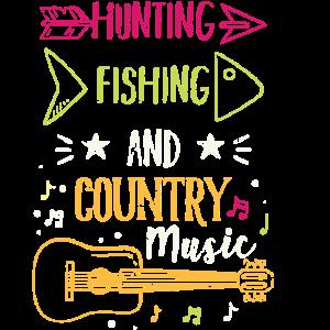 Fischen und Jagen