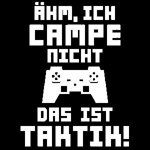 Gamer Campe nicht Ist Taktik Videospiel Geschenk