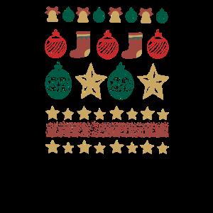 Weihnachtskugeln Geschenk Stern Christmas