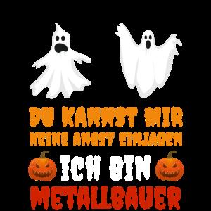 Metallbauer Halloween Outfit Kostüm