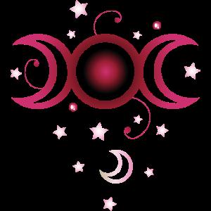 Triple moon, bunt