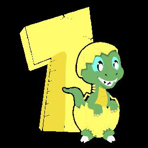 Erster Geburtstag Dino Eins 1 Dinosaurier Baby