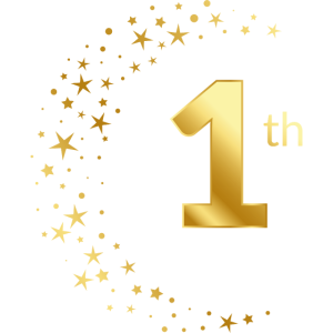 1 Jubiläum Geburtstag Ehrentag Geschenk Jahrestag