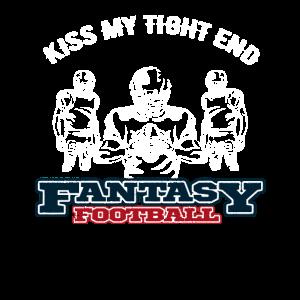 Fantasy Football Kiss My Tight End
