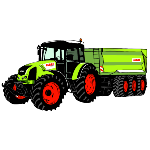 Traktor - Trecker - Schlepper - Landwirt