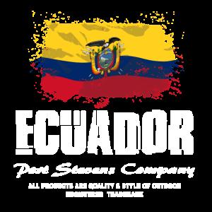 Ecuador Flag Logo