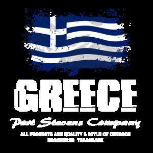 Greece Flag Logo