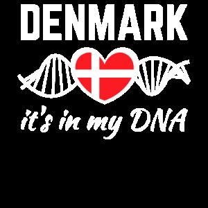 Dänemark Dänisch Herz DNA Love