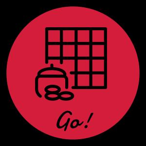 Go-Spiel Go Sport Strategie Spieler