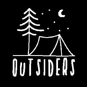Zelten, Campen, Outsiders, Wald