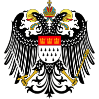 Wappen von Köln ohne Schriftzug