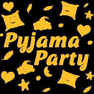 Pyjama Party für ein lustige Mädels Nacht