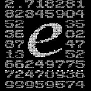 Eulersche Zahl e (Basis natürlicher Logarithmus)