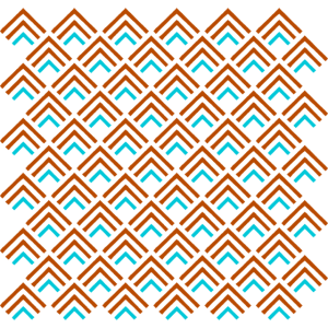 Dreiecke angeordnet als Muster