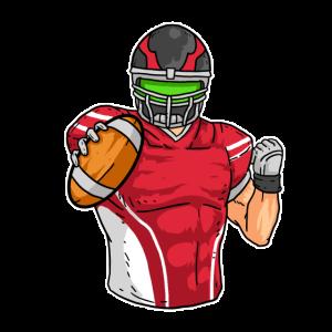 American Football Spieler Spiel Mannschaft