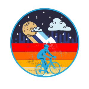 Retro Radfahrer