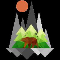 Bär in der Wildnis