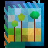 Bäume (minimal)
