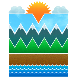 Landschaft (minimal)
